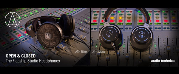 Audio-Technica Flagship Headphones