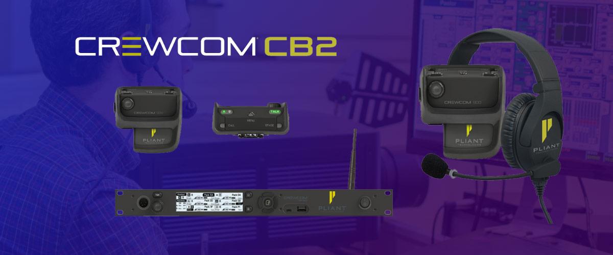 Pliant Technologies Crewcom CB2 Intercom
