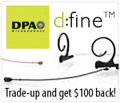 DPA d:fine Trade-in Trade-up