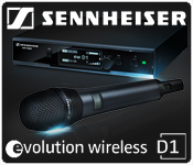 Sennheiser D1 Wireless