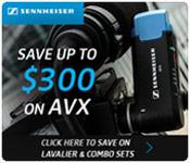Sennheiser AVX Instant Rebates