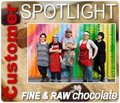 Customer Spotlight - Fine and Raw Chocolates